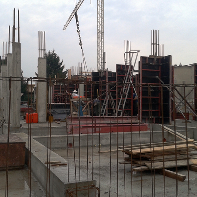 cantiere in Monza
