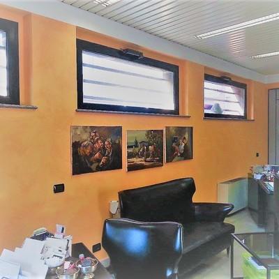 uffici decorati con antiche terre fiorentine