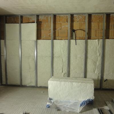 Cartongesso - isolamento parete