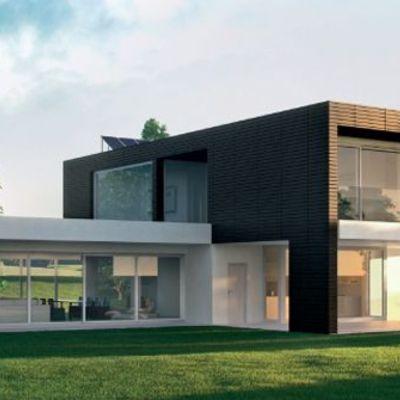 Casa moderna su due livelli