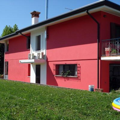 Casa rossa terminata