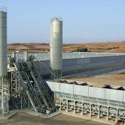 Centrali di betonaggio per l'industria della prefabbricazione - Batching plants suitable for the precast industry