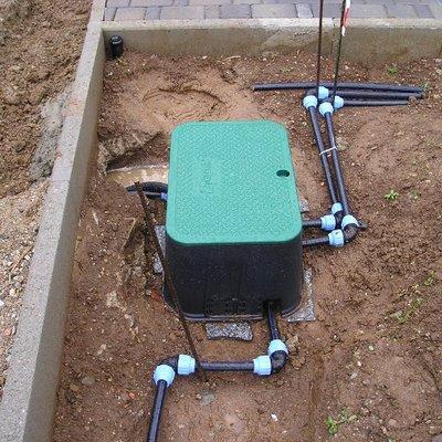 Centralina per l'irrigazione