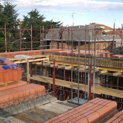 costruzione palazzina