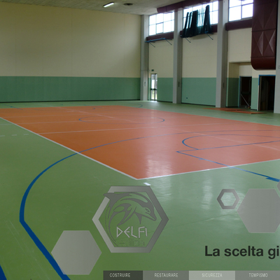 Campo da Basket Palestra Seravezza