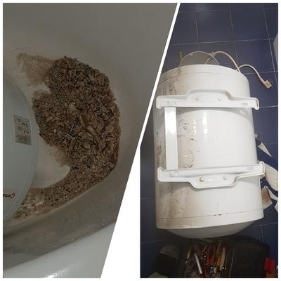 Pulizia boiler