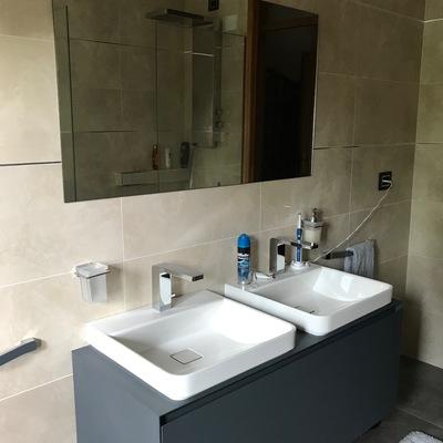 Composizione doppio lavabo