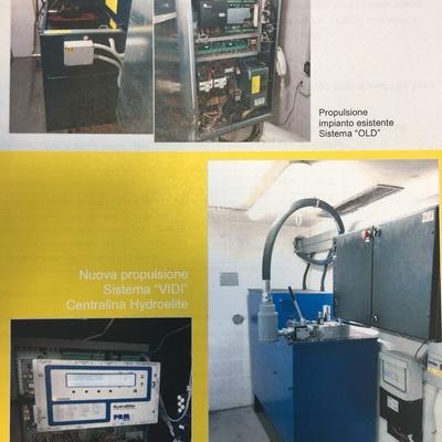 Amodernamento ascensore idraulico Comune di Udine  risparmio energetico 50%