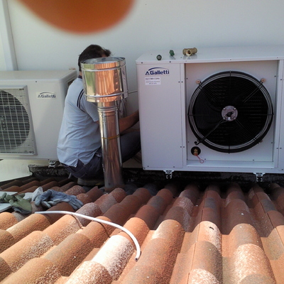 Condizionamento residenziale acqua/aria