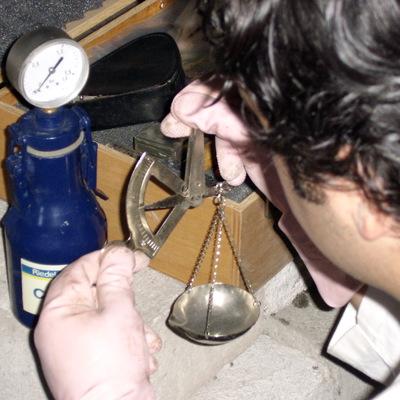 Controllo della percentuale di umidità