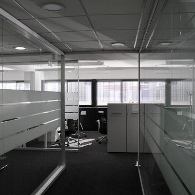 Controsoffitti fibra minerale uffici Genova