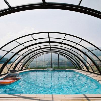 Copertura scorrevole per la piscina