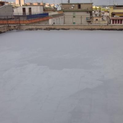 Copertura terrazzo con Mapelastic