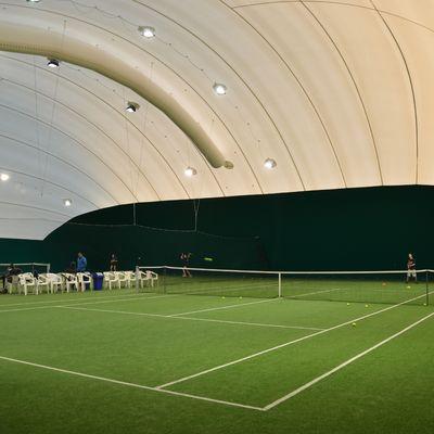 Coppia campi Tennis coperti