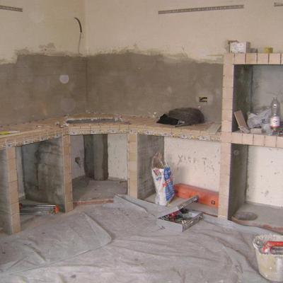 Costruzione Cucina in muratura