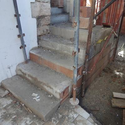 Costruzione di scale interne