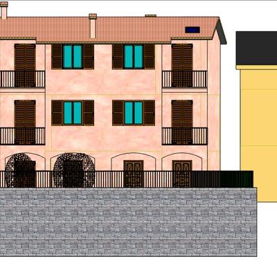costruzione fabbricato con 3 appartamenti