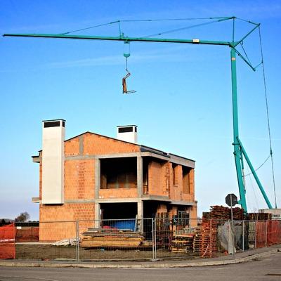 costruzione nuova villa unifamiliare al grezzo