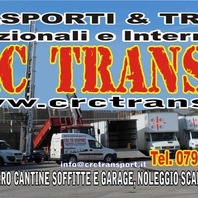 Parco mezzi ed attrezzature CRC TRANSPORT SNC