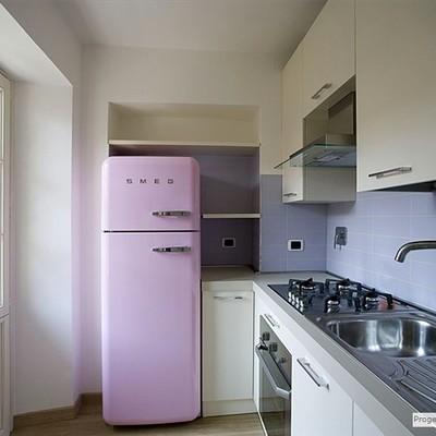 Cucina moderna in contesto d'epoca