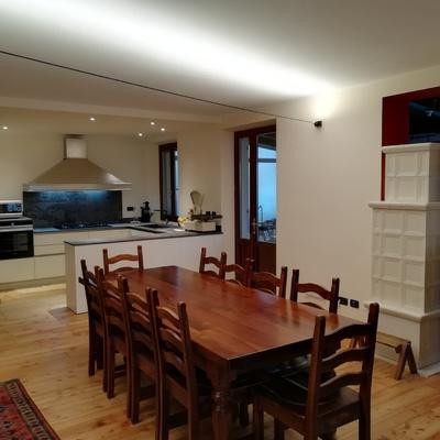 Ristrutturazione cucina-soggiorno
