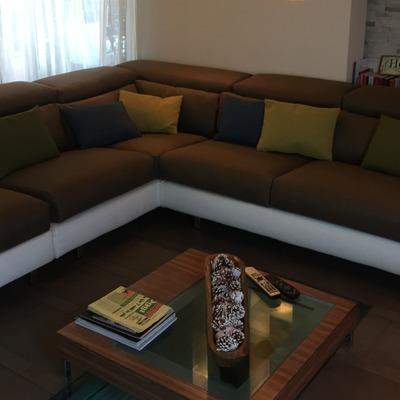 Rifacimento divano e cuscinetti decorativi