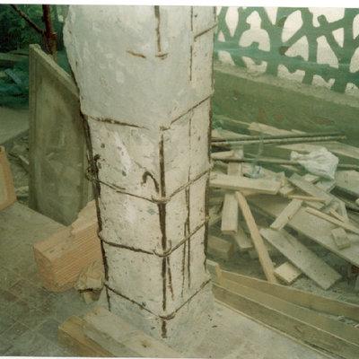Danni al cemento armato