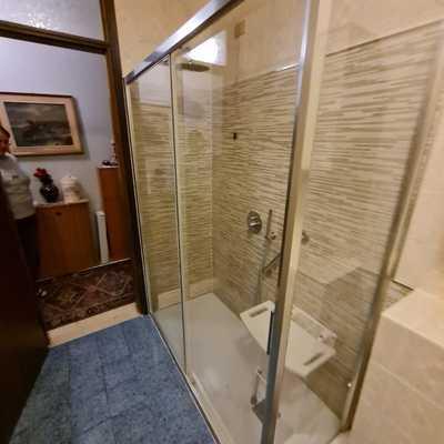 Trasformazione da vasca a doccia