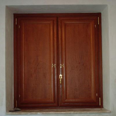 Finestre in alluminio legno