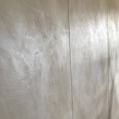 decorazione materica marmorizzata