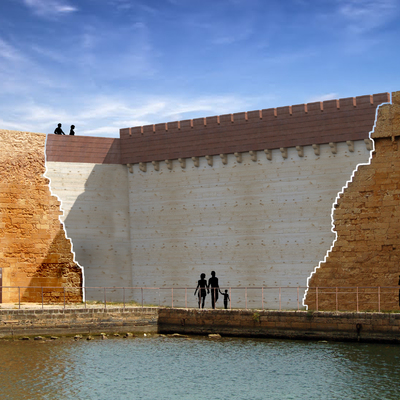 Restauro del Castello di Forte a Mare in Brindisi