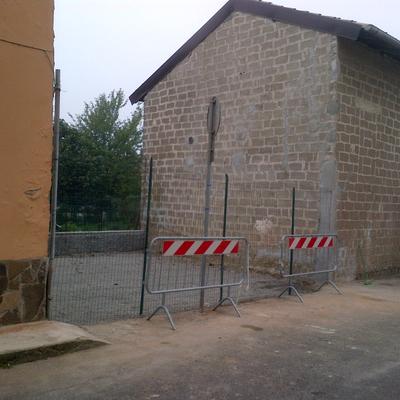demolizione a san zenone al po 19/110/2012