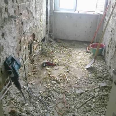Cassina demolizione
