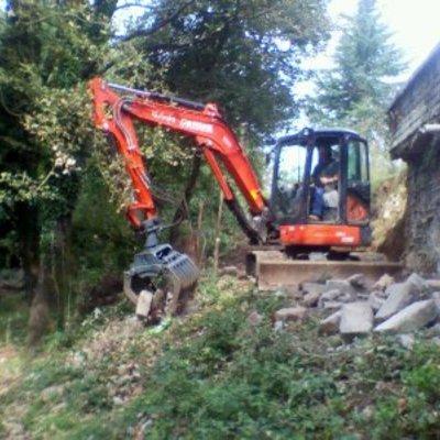 demolizione e sgombero materiali