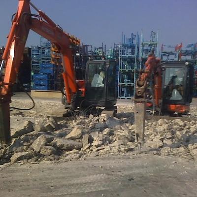 Demolizione Pavimentazione industriale