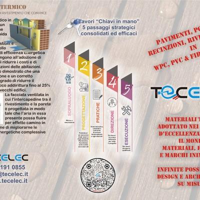 Pavimenti e rivestimenti per interni ed esterni in WPC, PVC, Vinilico e Fibrocemento, Isolamento termico