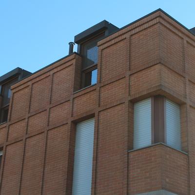Edificio mattone facciavista