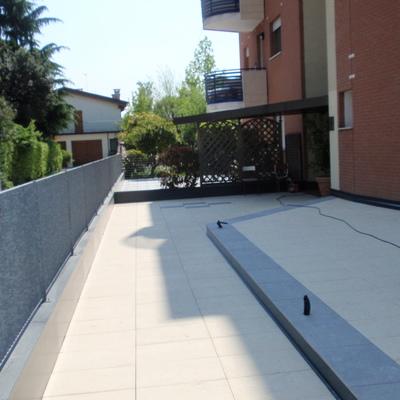 Pavimentazione esterna in Vicenza