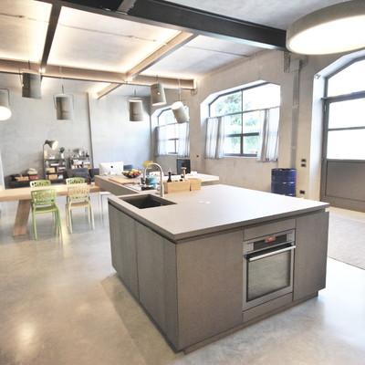 Ristrutturazione loft zona cucina