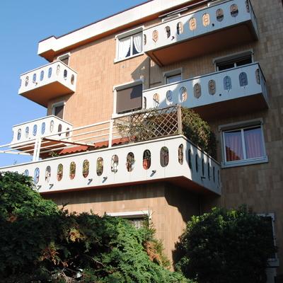 Facciata e balconi