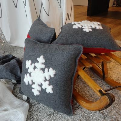 cuscini fiocco di neve