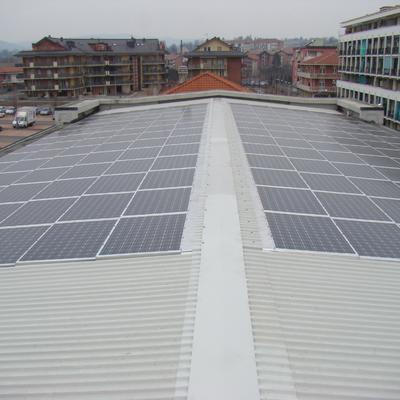 Imp. Fotovoltaico, Pompa di calore HItachi e riscaldamento a battiscopa in Chieri (TO)