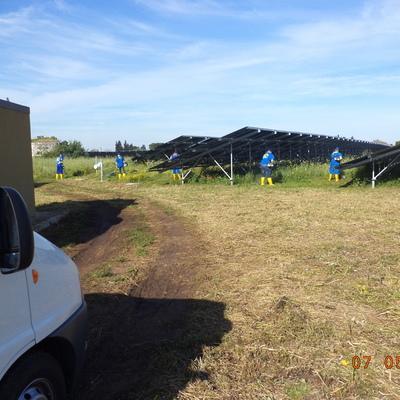 manutenzione grandi parchi fotovoltaici