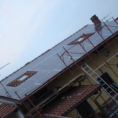 Fotovoltaico rustico a Piscina (TO)
