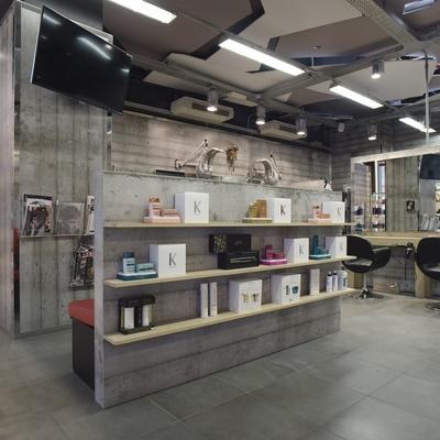 Ristrutturazione salone parrucchieri - Carpi (MO)