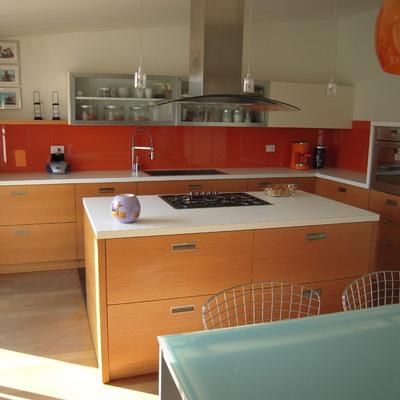 cucina su misura con isola
