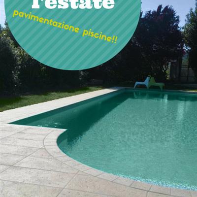 Rifacimento pavimentazione piscina privata