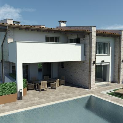 Progetto nuova villa singola