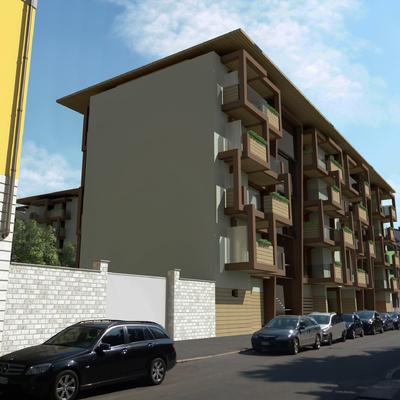 Progetto nuovo complesso residenziale