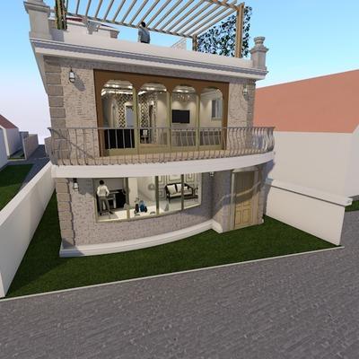 Design Facciata Villa Privata